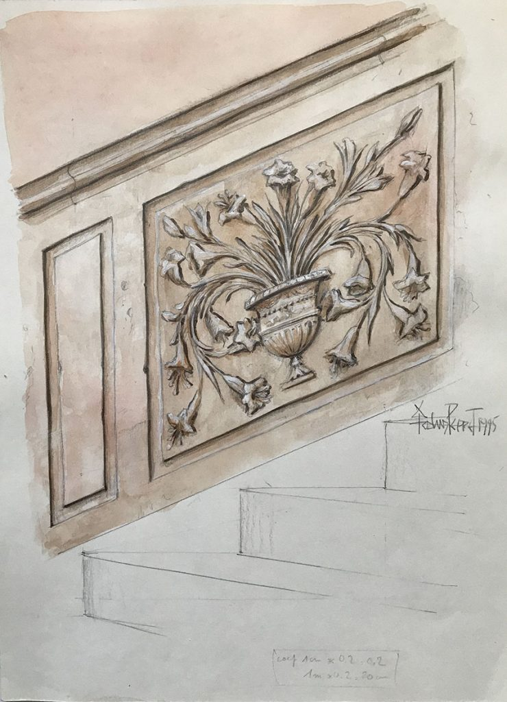 Esquisse-escalier-Kammerzell